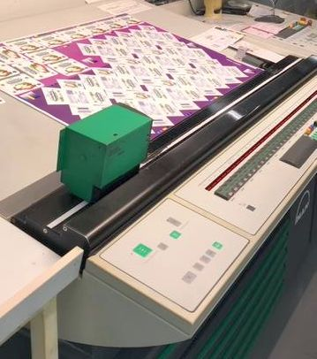 Roland 708 LV HiPrint year 2011